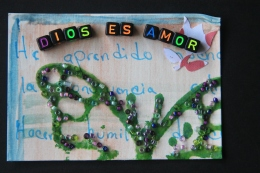 Patricia from El Salvador expresses her love for God.