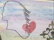A teenage daughter writes he hopes an dreams...to be a doctor.