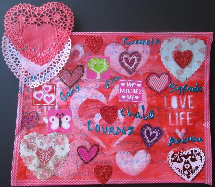 Valentine's Day Art Reflection