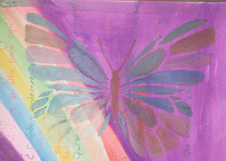 Mariposa symbolizes freedom